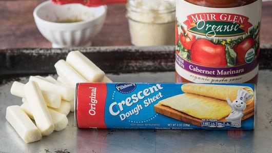 crescent mozzarella sticks