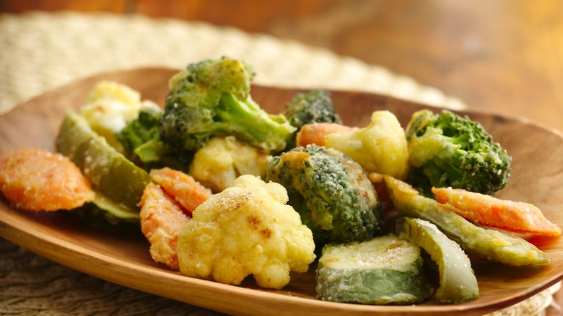 Bocadillos de Verduras