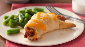 Easy BBQ Chicken Crescents