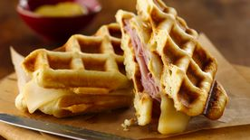 Grands!® Jr. Honey Ham Waffle Sandwiches