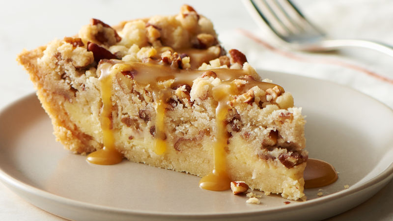 Brown Sugar-Pecan Cheesecake Pie