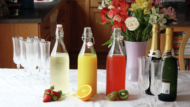 Fruity Mimosa Bar
