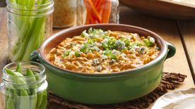 Mexican Buffalo Chicken Dip