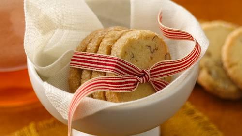 Orange-Pecan-Ginger Cookies image