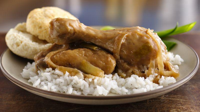 Smothered Chicken And Gravy Recipe Bettycrocker
