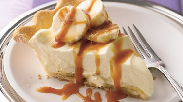 Bananas Foster Pudding Pie