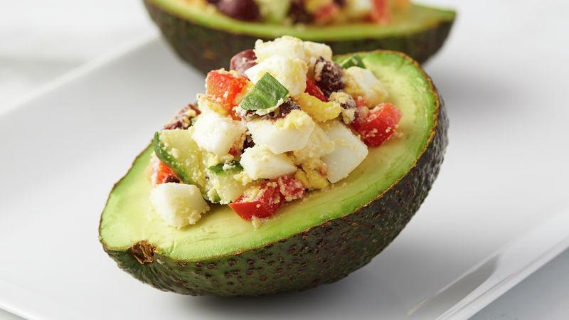 Easy Stuffed Avocado Salad
