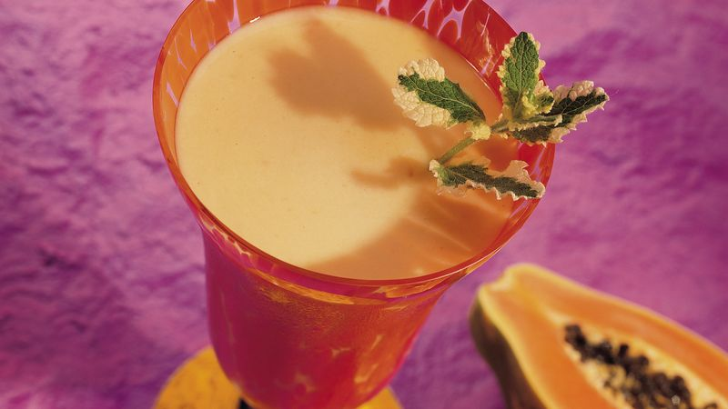 Orange Papaya Cooler