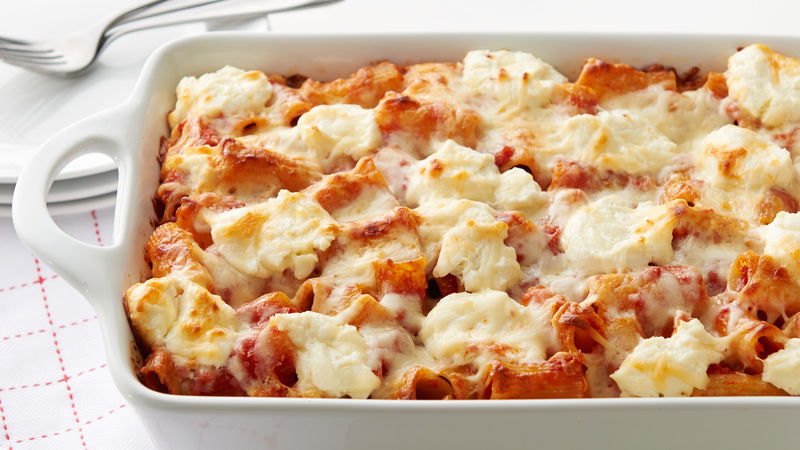 Italian Baked Pasta Recipe Bettycrocker Com