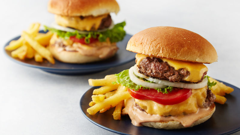 Copycat In-N-Out Burger™ Double Cheeseburger