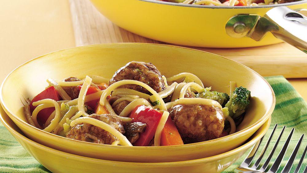 Meatball Lo Mein