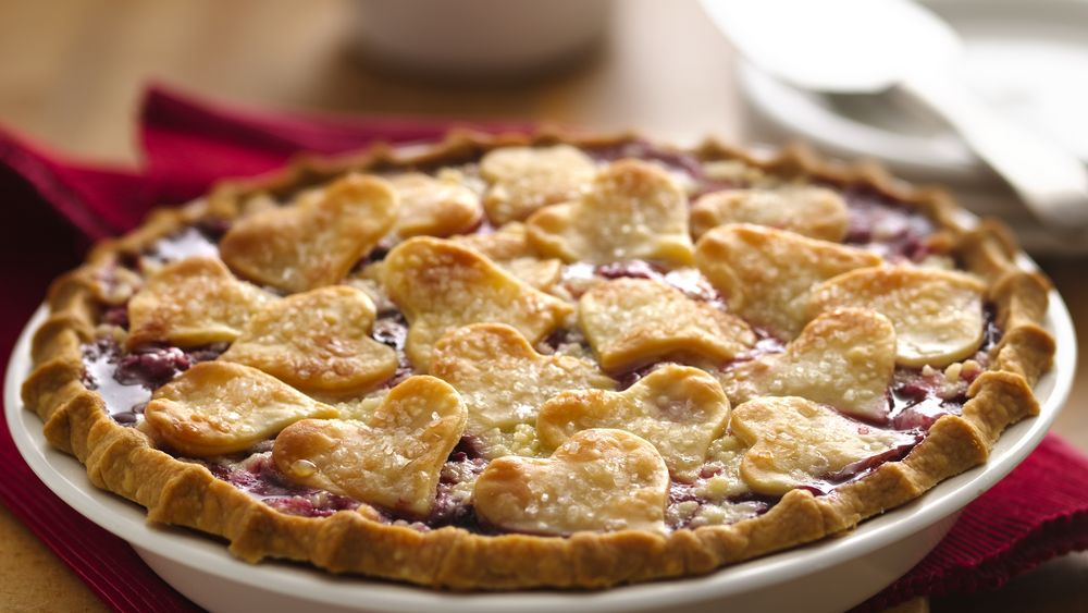 Cherry Berry Sweetheart Pie