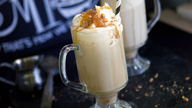 Caramel Ice Cream Coffee (Affogato)