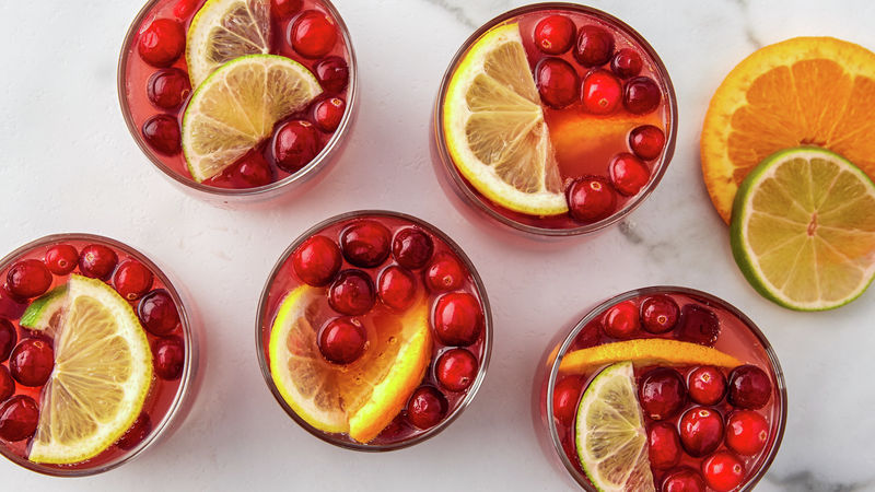 Cranberry Moonshine Punch