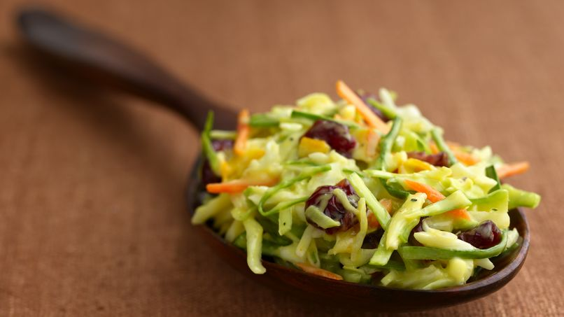 Creamy Cranberry-Orange Coleslaw