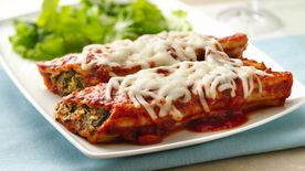 Easy Cheesy Manicotti