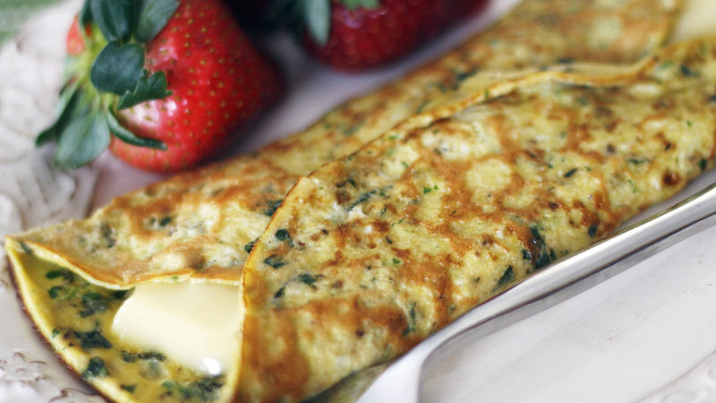 Herb and Brie Omelet