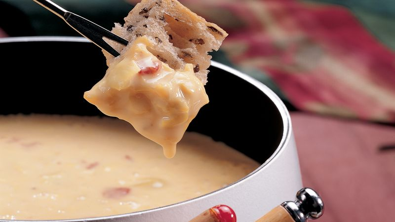 Cheese and Artichoke Fondue