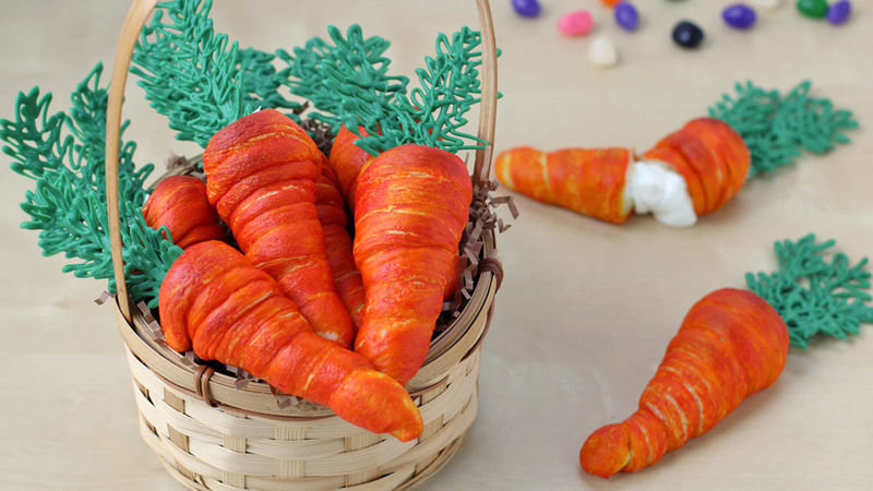 Crescent Carrot Appetizers Recipe Tablespoon Com