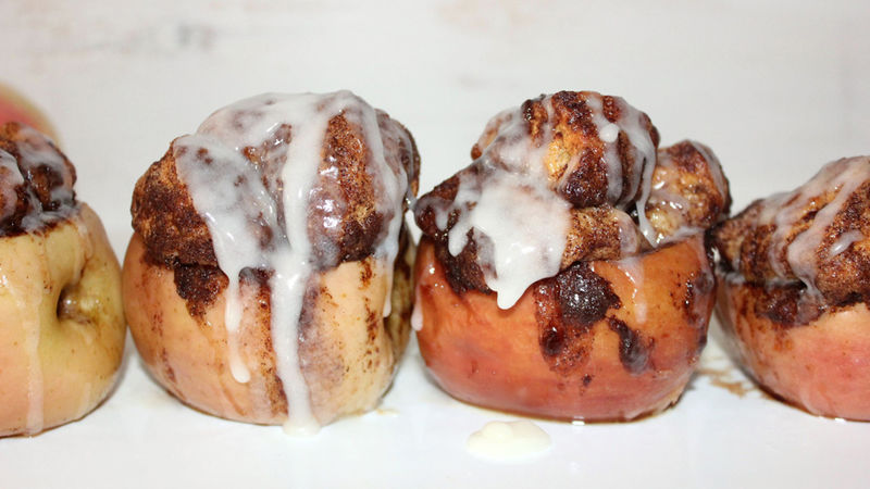 Monkey Bread-Stuffed Apples