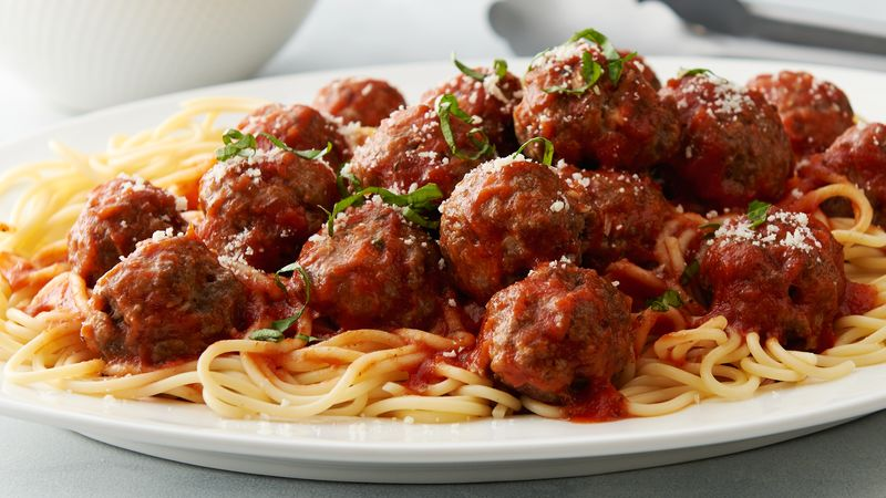 Spaghetti and meatballs is a classic. But we know by now that pasta made of processed wheat noodles makes us fat and sick.. A plate of regular pasta can easily pack in over 80 grams of carbs while offering little to no nutritional value.