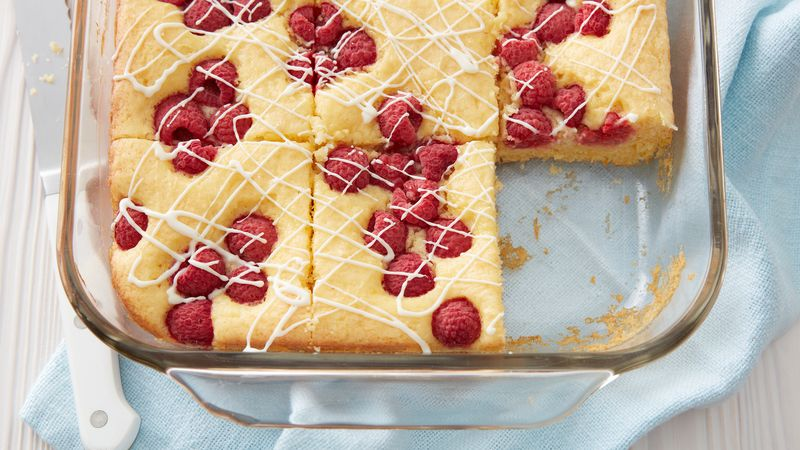 One-Bowl Lemon-Raspberry Cake