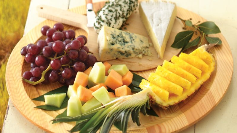 Fruit and Cheese Platter & Fruit and Cheese Platter Recipe - BettyCrocker.com