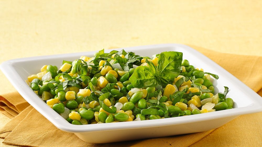 Corn and Sweet Bean Sauté
