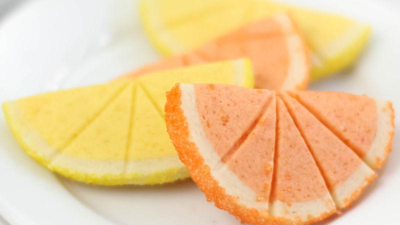 Citrus Slice Cookies