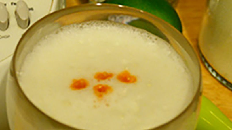 Pisco Sour: Step by Step