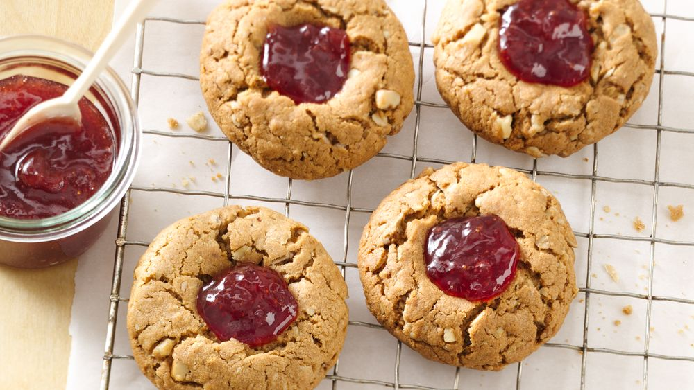 PB&J Breakfast Cookies
