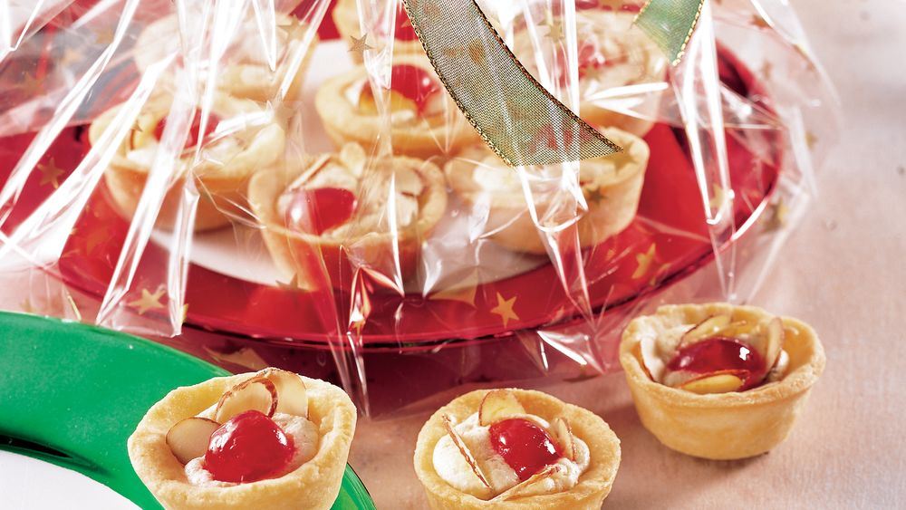 Cherry-Almond Cups