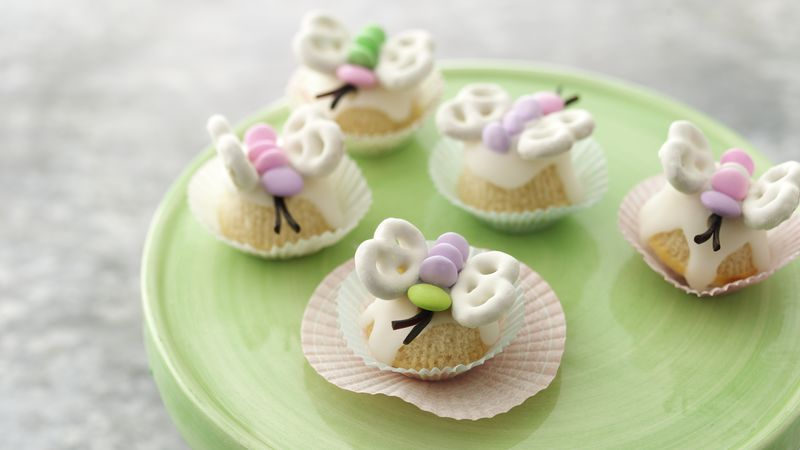 Butterfly Cupcake Petits Fours