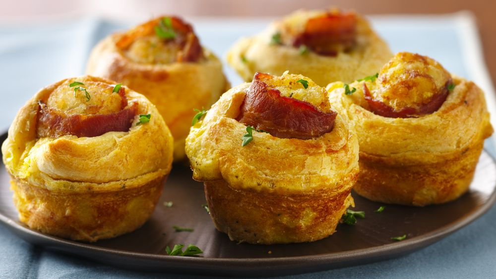 Bacon-Egg Breakfast Bites