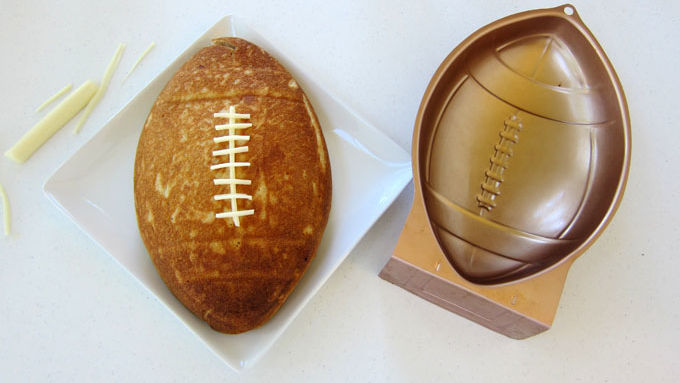 Football Cake Mold Recipe