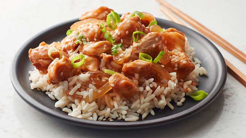Slow Cooker Sweet And Sour Chicken Recipe Tablespoon Com