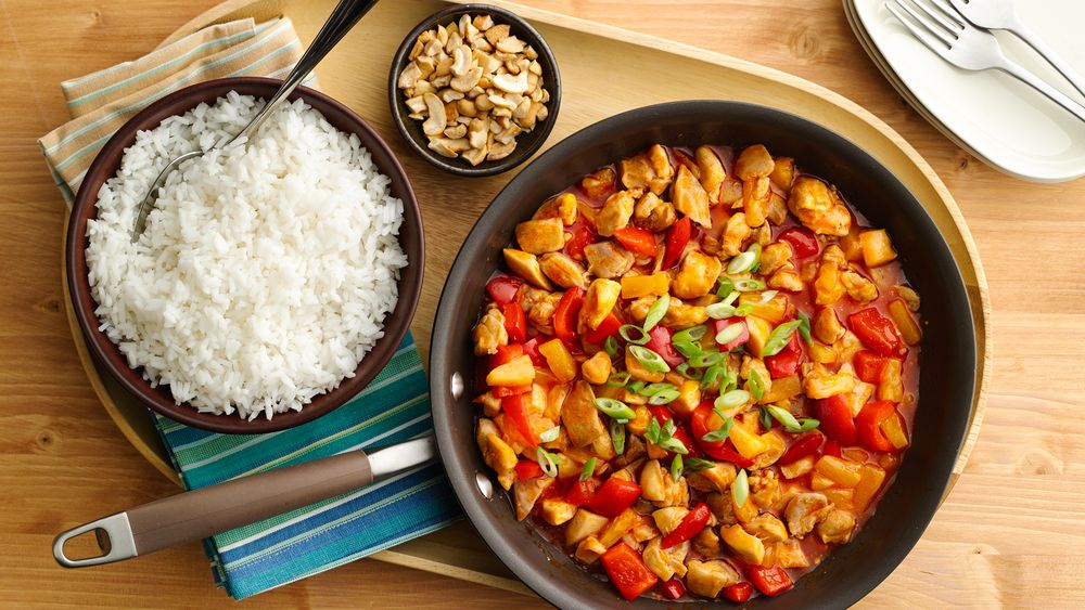 5-Ingredient Sweet-and-Sour Chicken