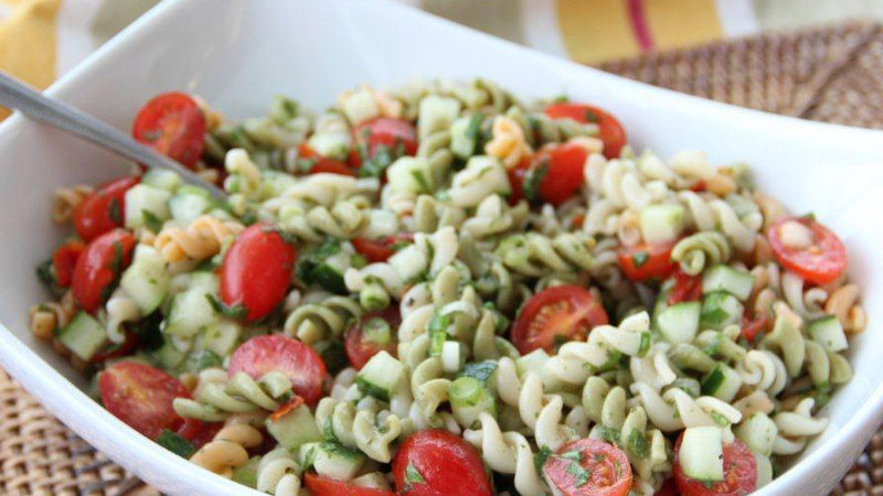 Tabbouleh Pasta Salad Recipe Bettycrocker Com