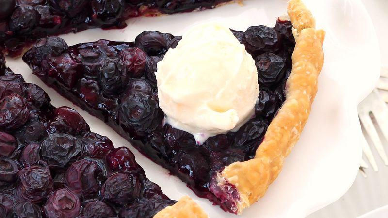 Easiest-Ever Blueberry Tart