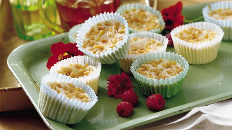 Mini Almond Cheesecakes