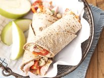 Skinny Tuna and White Bean Wraps