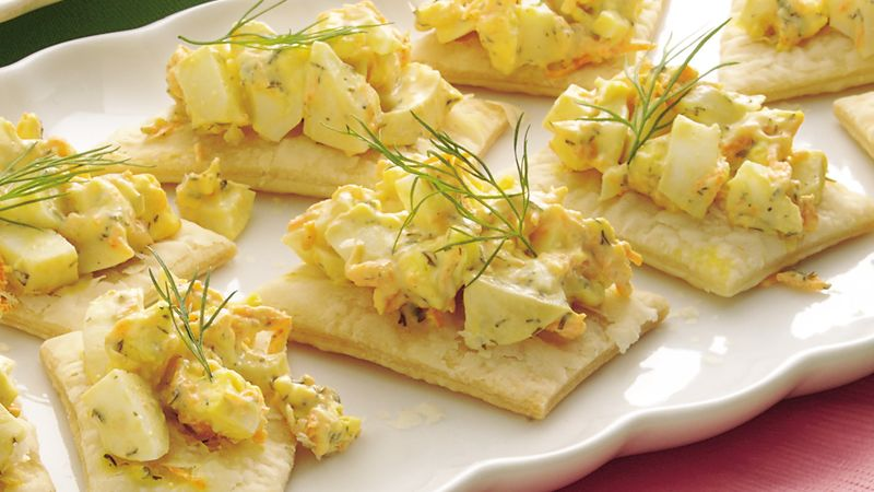 Egg Salad Crisps