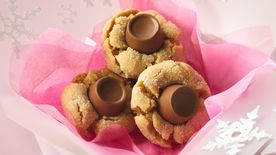 Candy-Topped Peanut Butter Cookies
