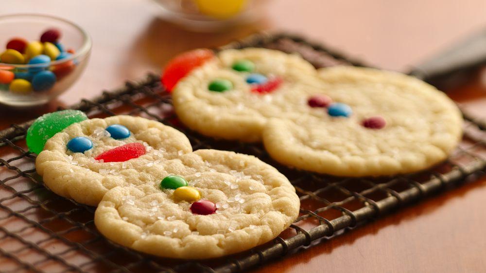 Spiral Snowmen Cookies