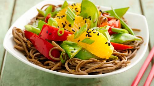 Diabetes recipes bettycrocker healthy sesame soba noodle bowls forumfinder Image collections