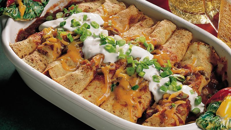 Beef Enchiladas Recipe Bettycrocker Com