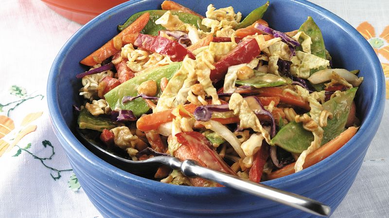 Peanut-Vegetable Salad