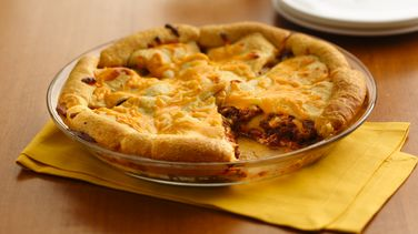 Cheeseburger Crescent Casserole