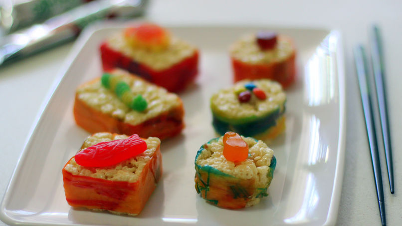 Sushi Dulce para Niños