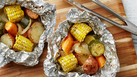 Grilled Vegetable Foil Packs
